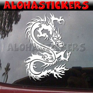 TRIBAL CHINESE DRAGON Car Truck Surf Skate Laptop Vinyl Decal Window