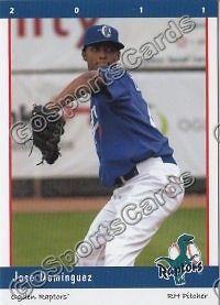 2011 Ogden Raptors Jose Dominguez Rookie RC Dodgers Minor League
