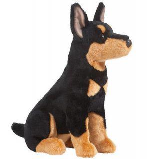 New DOUGLAS TOY Stuffed Plush DOBERMAN PINSCHER DOG Soft Animal 16
