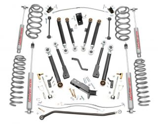 97 06 Jeep TJ Wrangler 4 X Series Suspension Lift Kit