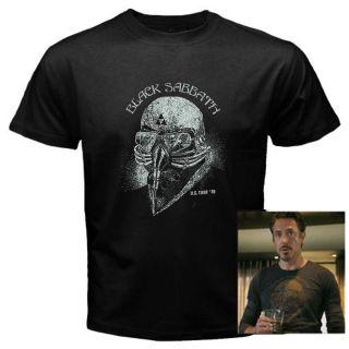 Black Sabbath Iron Man Tony Stark The Avengers US Tour 78 T Shirt Tee