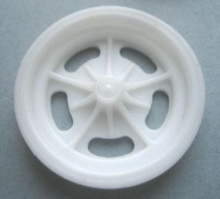 Resin 1/16 Halibrand Narrow Front Wheels, Funny Car