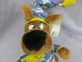 NETWORK SCOOBY DOO BEDTIME PUPPY DOG PAJAMAS SLIPPERS PLUSH STUFFED