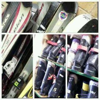 Ski package rental skis bindings boots 4+ and poles 138cm+ Volkl