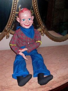 Howdy Doody National Broadcasting Co EEGEE Ventriloquist Doll Dummy