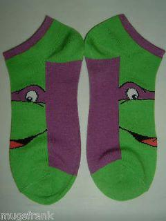 Teenage Mutant Ninja Turtles Tmnt Donatello Womens Ankle Socks