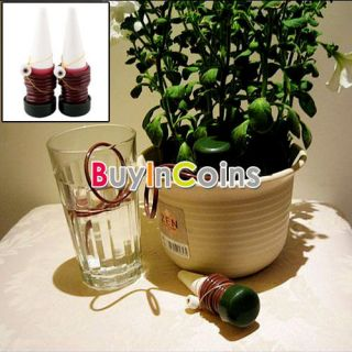 2Pcs Easy Use Automatic Plant Waterer Houseplant Spikes Automatische