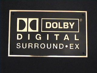 Newly listed Dolby Digital Surround EX Home Cinema Wall Plaque