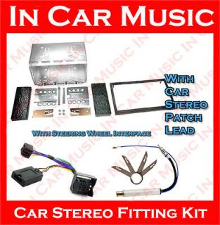 Superb Double Din Fascia Stalk Adaptor Pioneer Car Stereo Fitting Kit