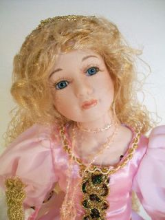 Duck House Heirloom Porcelain Doll Princess Ann RARE New In Box COA 15