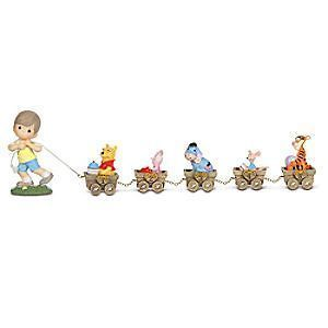 Precious Moments Disney Winnie Pooh Parade Train Birthday Numbers
