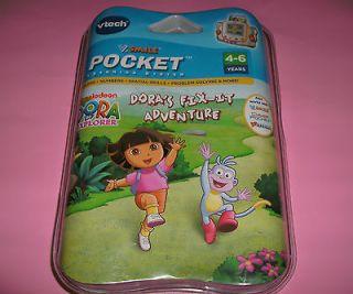 smile Dora the Explorer *SEALED* Learning Smartridge Video pocket Game
