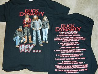 DUCK DYNASTY T SHIRT COMMANDER SI ROBERTSON FAMILY HEY QUOTES TV