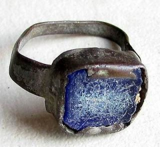 Antique Silver Women Small Ring Medieval Crusader Era Holy Land VERY