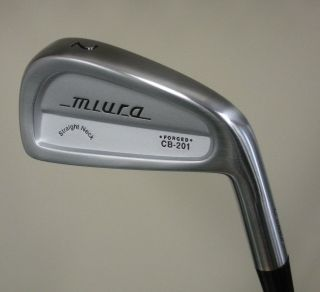 New Miura Golf Forged CB 201 2 iron True Temper stiff shaft Lamkin