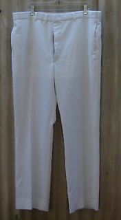 US Navy Male Officer Top Gun White Military Uniform Pants/Trousers