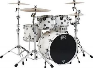 DW Performance Series 5 Piece Shell Pack White Ice 18X22