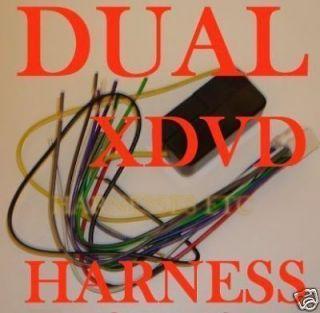 Dual Wire Harness XD7600 XDM6820 XDM6400 XDMR7710 XHD7720 ... Dual Xdm Wiring Harness on