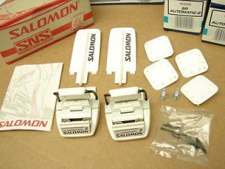 New Salomon SR Automatic 2 Cross Country Ski Bindings SNS Binding