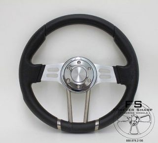 ( All Models ) 13.5 Inch STEERING WHEEL ( Black ) ~NEW ~ Drifter I