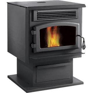 HEATER / STOVE Pellet Burning   45,000 BTU   2,000 Sq Ft   EPA Exempt