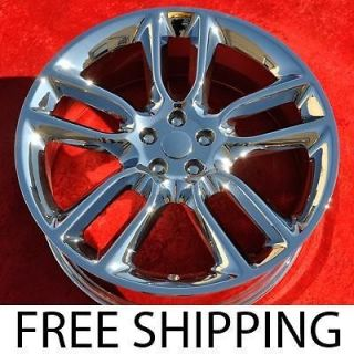 Set of 4 New Chrome 22 Ford Edge Lincoln MKX OEM Wheels Rims 3783