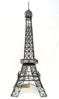 France Eiffel Tower Replica Statue Tea Light Holder Jewelry Hanger #20