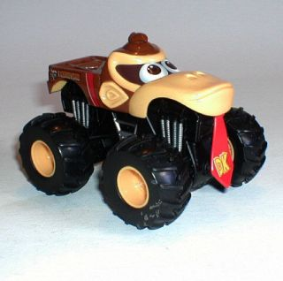 Video Game Diecast 6 Donkey Kong Monster Truck , wii ds mario