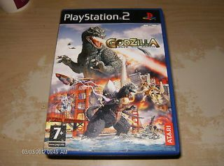 GODZILLA SAVE THE EARTH PS2 GAMES 7+