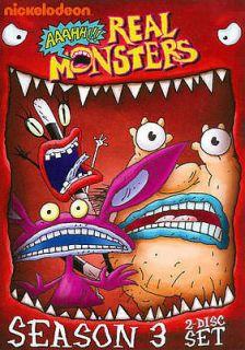 AAAHH!!! REAL MONSTERS: SEASON 3   NEW DVD BOXSET