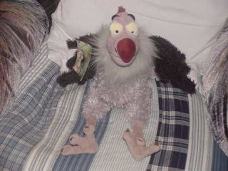 14 Disney Lucky VULTURE Plush W/Tags The Jungle Book