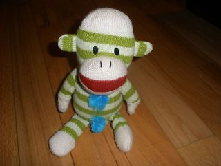 Gemmmy Industries singing dancing sock Monkey plush stuffed animal