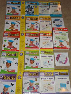 Your BABY CAN READ Educational Books, DVDs, Flash Card Set
