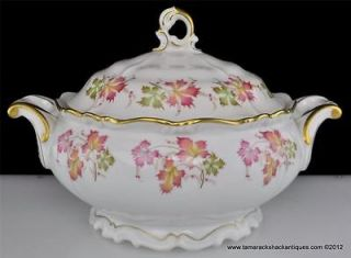 Edelstein Bavaria Maria Theresia Round Covered Vegetable Bowl Ophelia