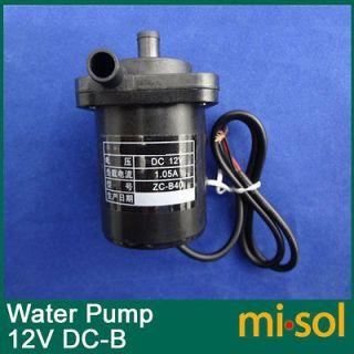 12V DCMicro pump Circulation system pump hot water pump Brushless Pump