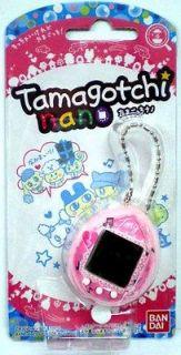 BANDAI Tamagotchi NANO PINK Girly Music Electronic Virtual PETS RARE