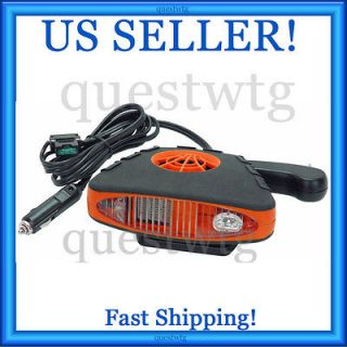 Universal Car Auto Electric Portable Space Heater Fan Defroster Deicer