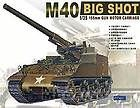 AFV Club 35031 M40 Big Shot US 155mm Gun Motor Car 1 35