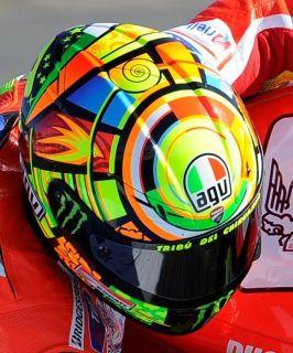 AGV GP TECH Valentino Rossi Elements size  L