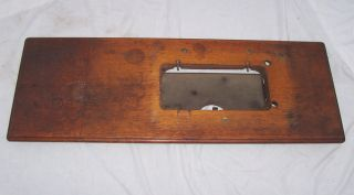 Antique Singer 15 27 VS2 Treadle Sewing Machine Cabinet Extension Leaf