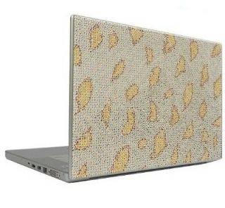Leopard 10 Crystal Rhinestone Bling Laptop Sticker Sheet Cover Skin