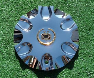 New Chrome Gold Vogue PASSION Wheel CENTER CAP Cadillac Hummer H3