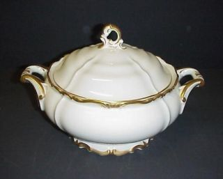 EDELSTEIN BAVARIA MARIA THERESIA ROUND COVERED VEGETABLE BOWL REDUCED