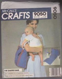 Baby Diaper Bag Changing Mat Pattern