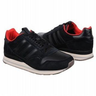 Adidas ZX 500 Mens Black/Bone Leather/Suede Sneakers Size 13 Medium