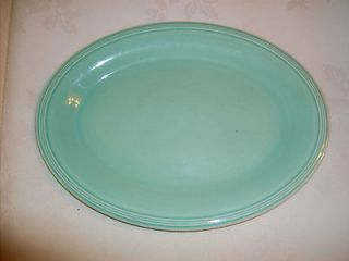 vintage Edwin M. Knowels China Co. U.S.A. Semi Vitreous 30 S platter