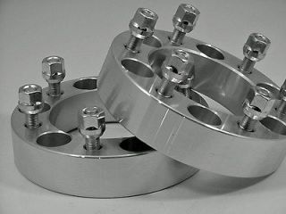 2pc HUMMER H3 WHEEL ADAPTER SPACERS FREE LUGS 1.50 Inch
