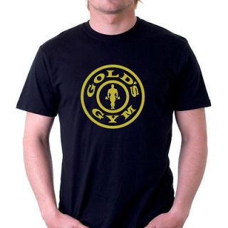 GOLDS GYM BODYBUILDING T SHIRT Lots of Colours