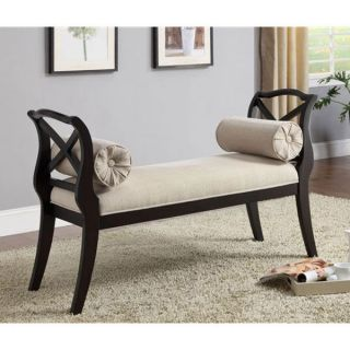 Philipsberg Traditional Solid Wood Accent Bench