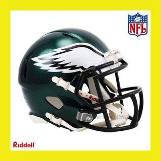PHILADELPHIA EAGLES NFL MINI REVOLUTION SPEED FOOTBALL HELMET by